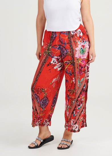 Rosy Outlook Natural Pant