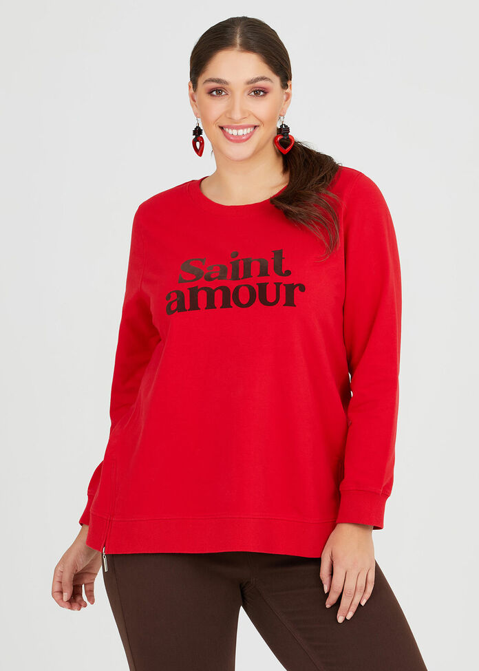 Organic Saint Amour Sweat, , hi-res