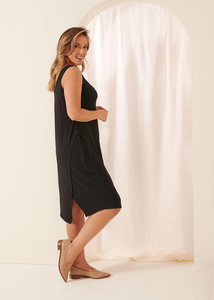 Luna Easy Angle Slip Dress, , hi-res