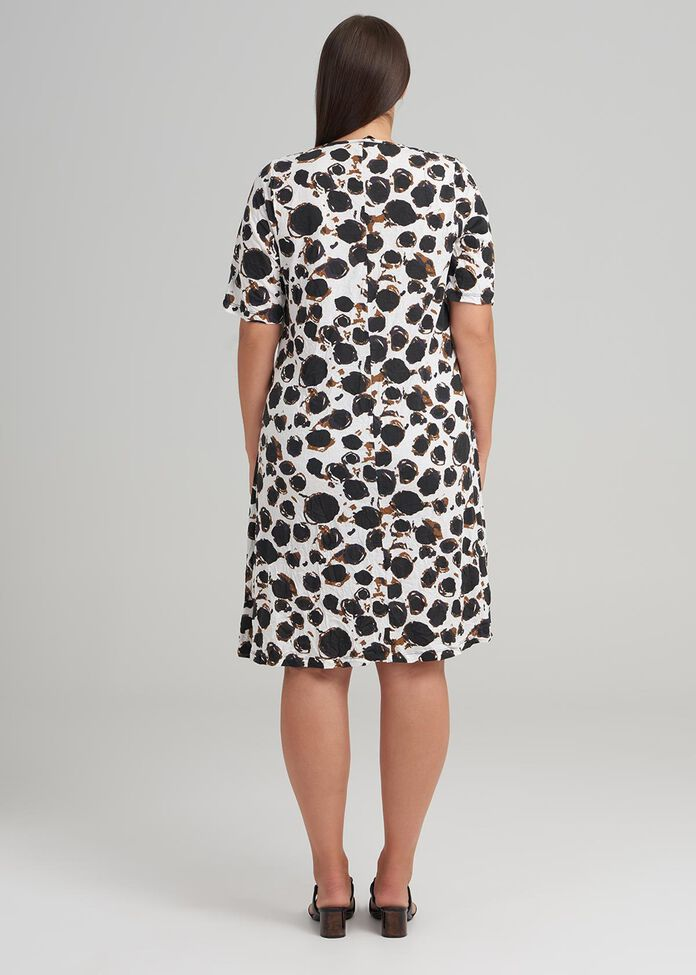 Minka Spot Dress, , hi-res