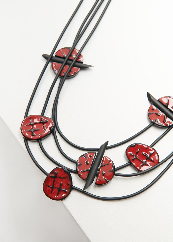Seeing Red Necklace, , hi-res