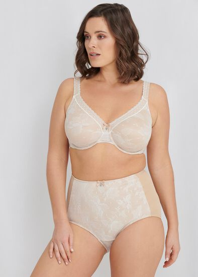 Smooth Lace Bra Sizes 20-24
