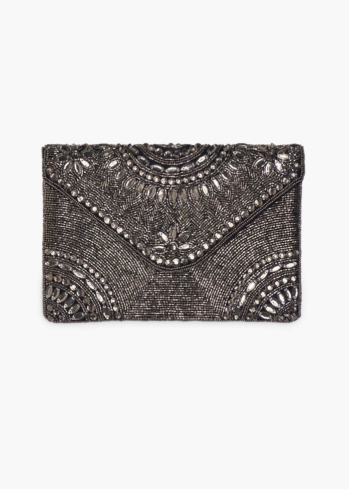 Goldie Glam Clutch, , hi-res