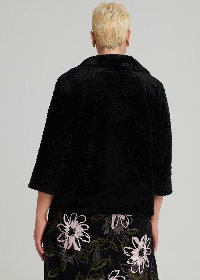 Imagine Faux Fur Jacket, , hi-res