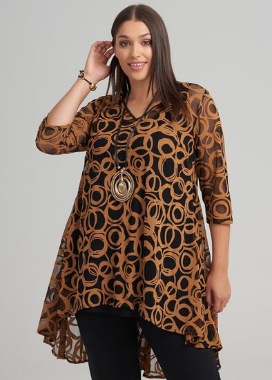 Bella Burnout Tunic