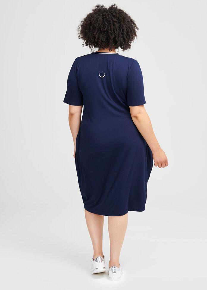 Encore Viscose Dress, , hi-res