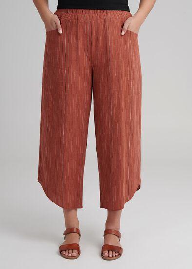 Linen Layla Crop Pant