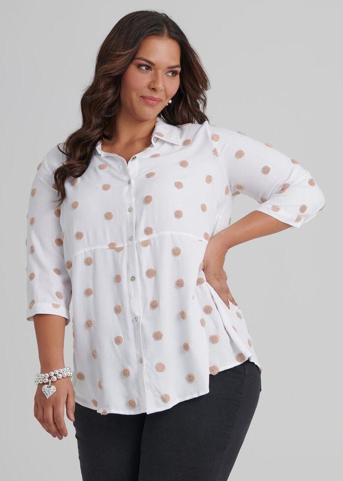 Boucle Spot Shirt, , hi-res