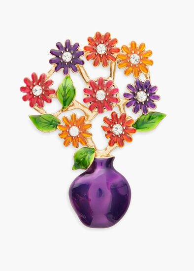 Bright Bunch Brooch