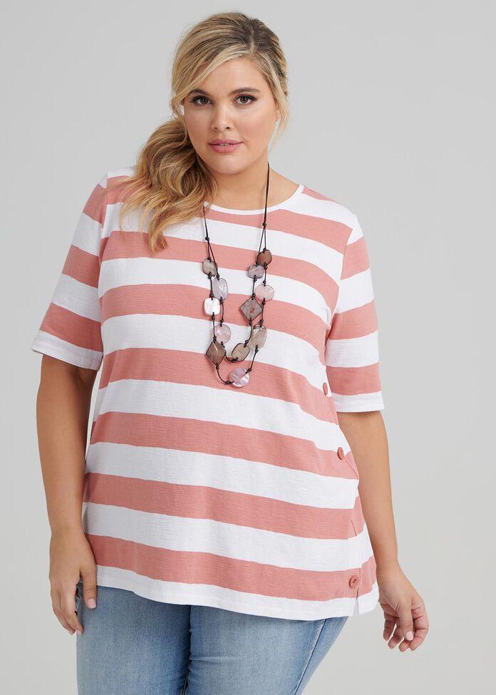 Be Bold Stripe Top, , hi-res