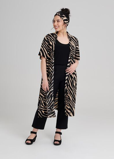 Petite Nicola Zebra Shirt