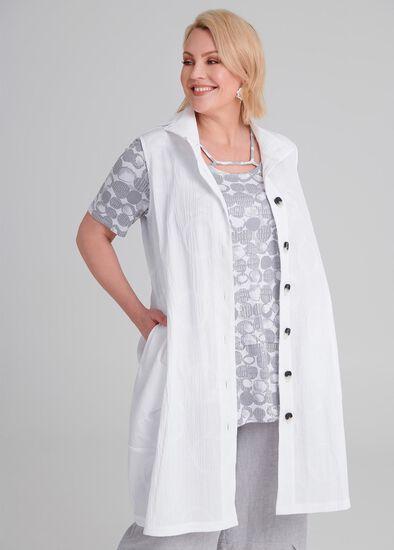 Isabelle Jacquard Vest