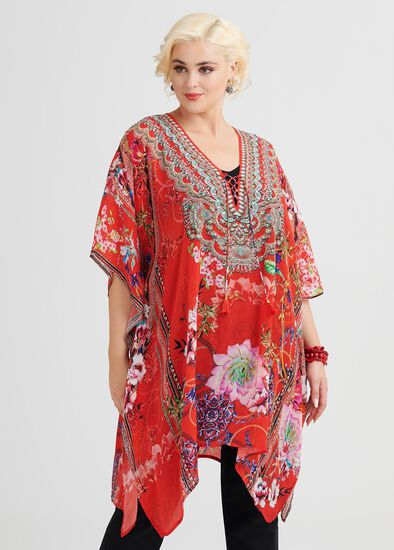 Rosy Outlook Viscose Top