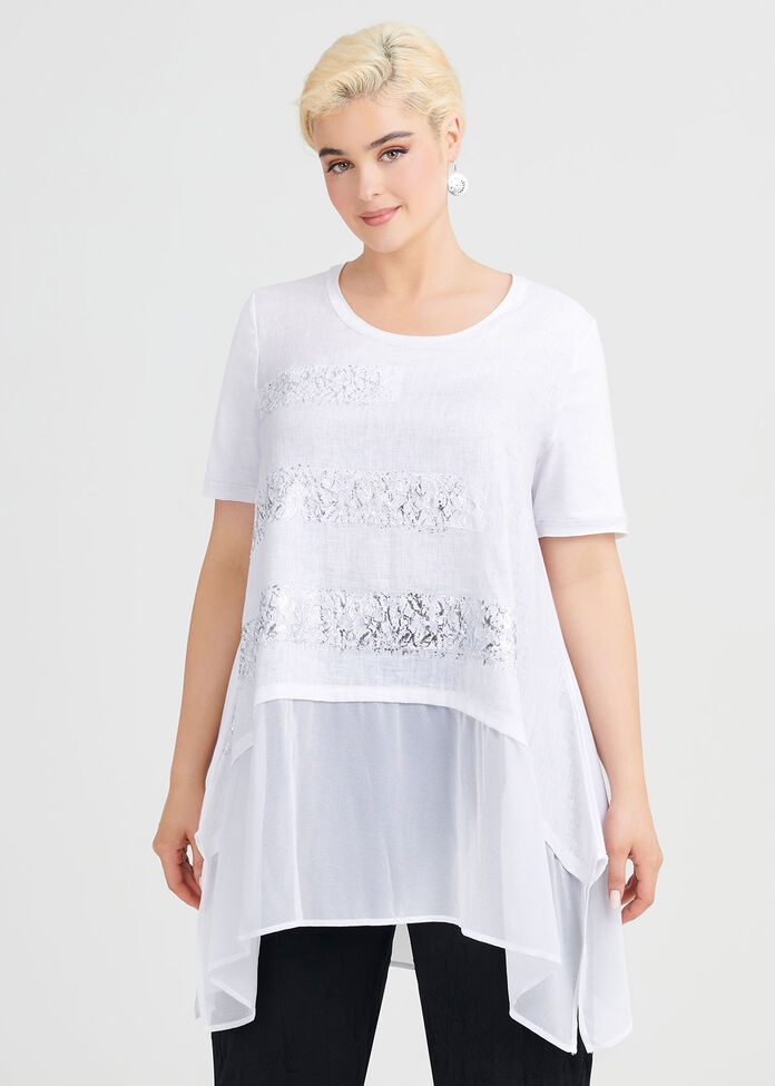 Born This Way Linen Tunic, , hi-res