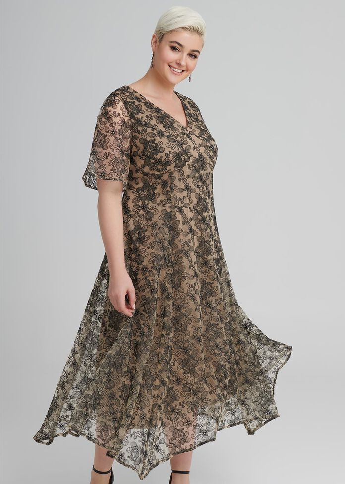 Come On Dover Lace Dress, , hi-res