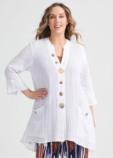 Gauze Linen Shirt
