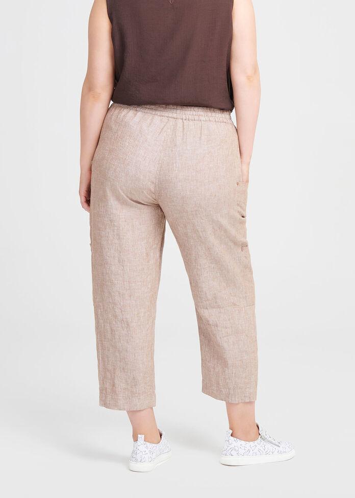 Linen Safari Pant, , hi-res