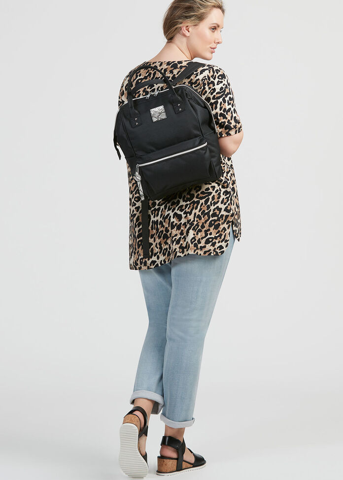 Bessie Black Backpack, , hi-res