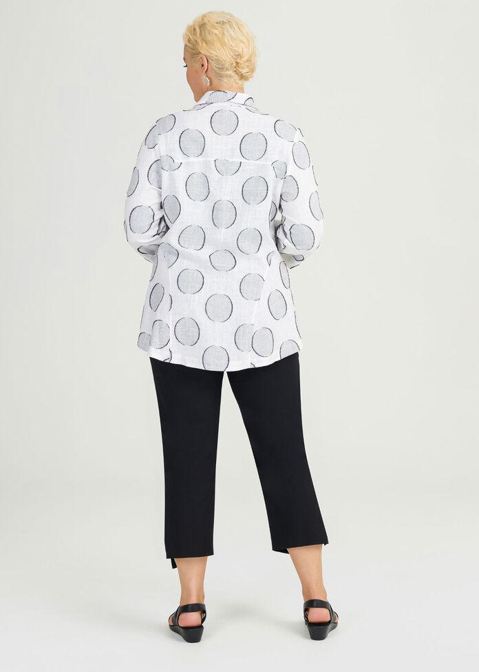 Linen Ascot Jacket, , hi-res