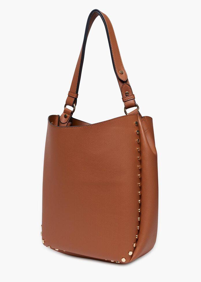 Stephie Studded Hobo Bag, , hi-res
