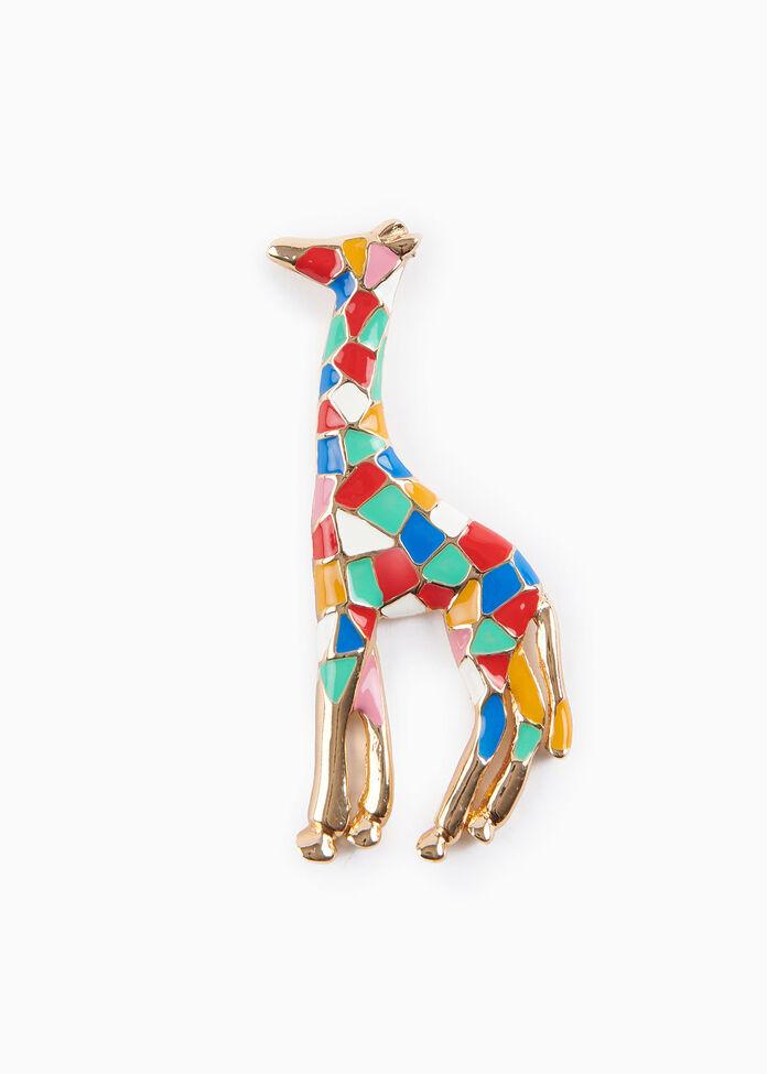 Giraffe Brooch, , hi-res