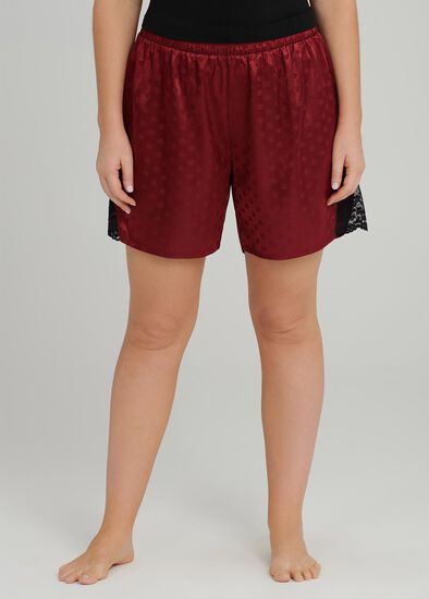 Lace Trim Pj Short