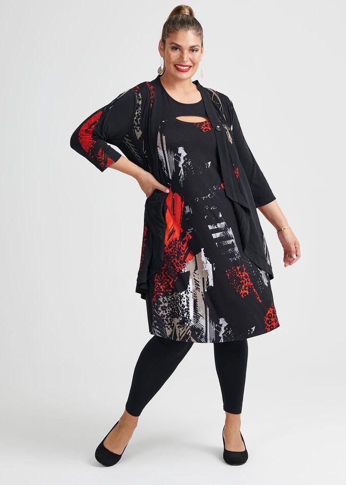 Panthera Bamboo Dress, , hi-res