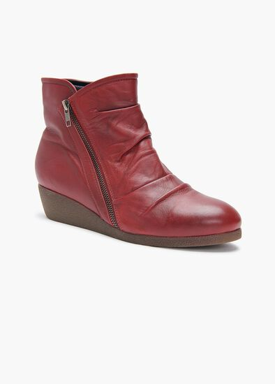 Jordan Ruched Ankle Boot