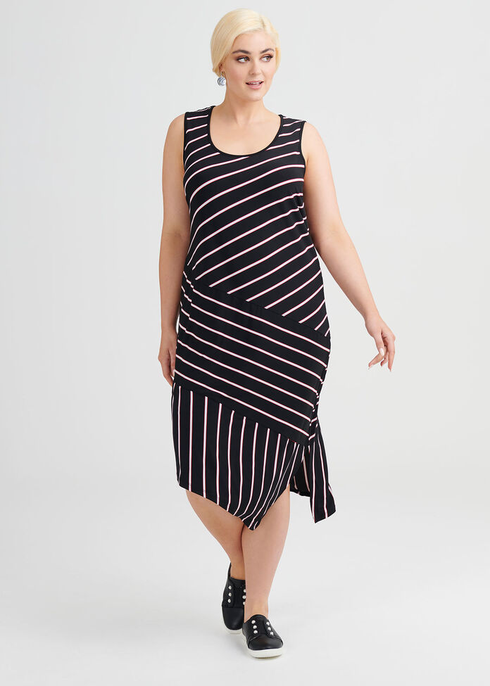 Nikita Stripe Dress, , hi-res