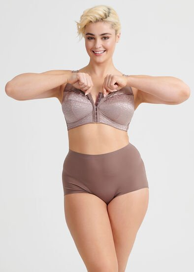 Wirefree Front Opening Bra Sizes 14-18