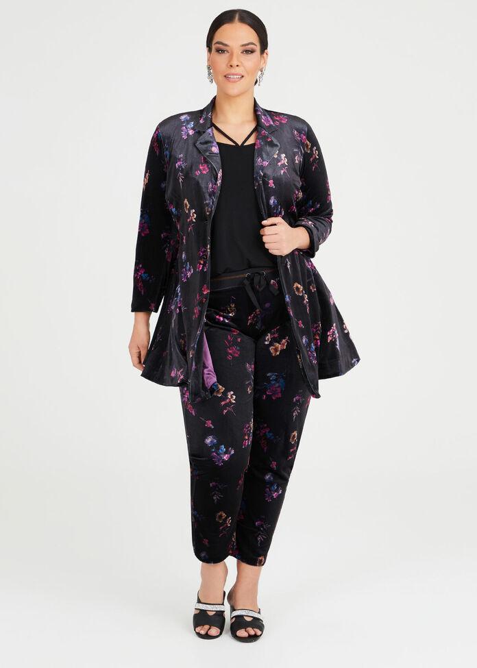 Amethyst Velvet Jacket, , hi-res