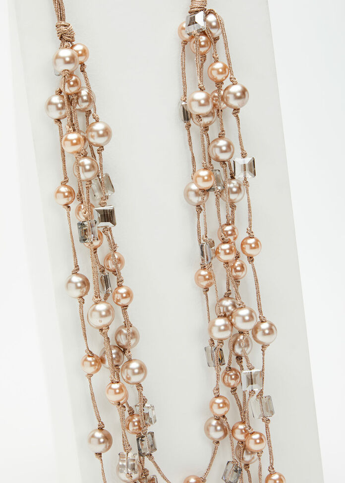 Queen Of Pearls Necklace, , hi-res