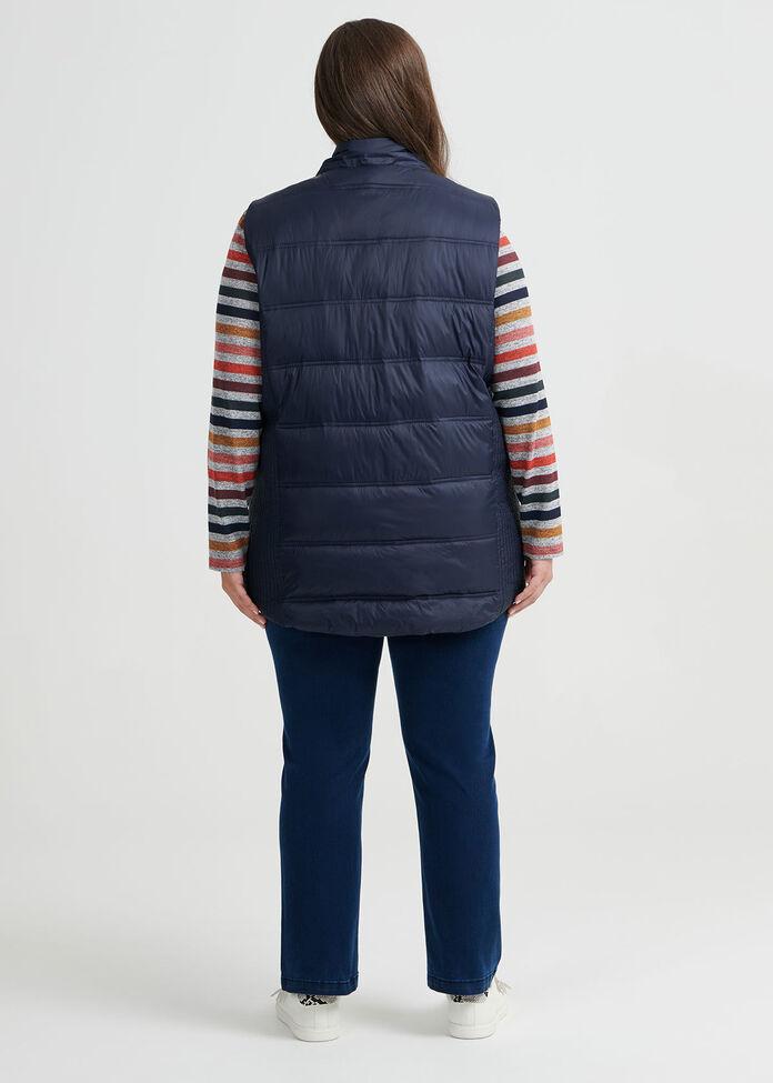Time Traveller Puffer Vest, , hi-res