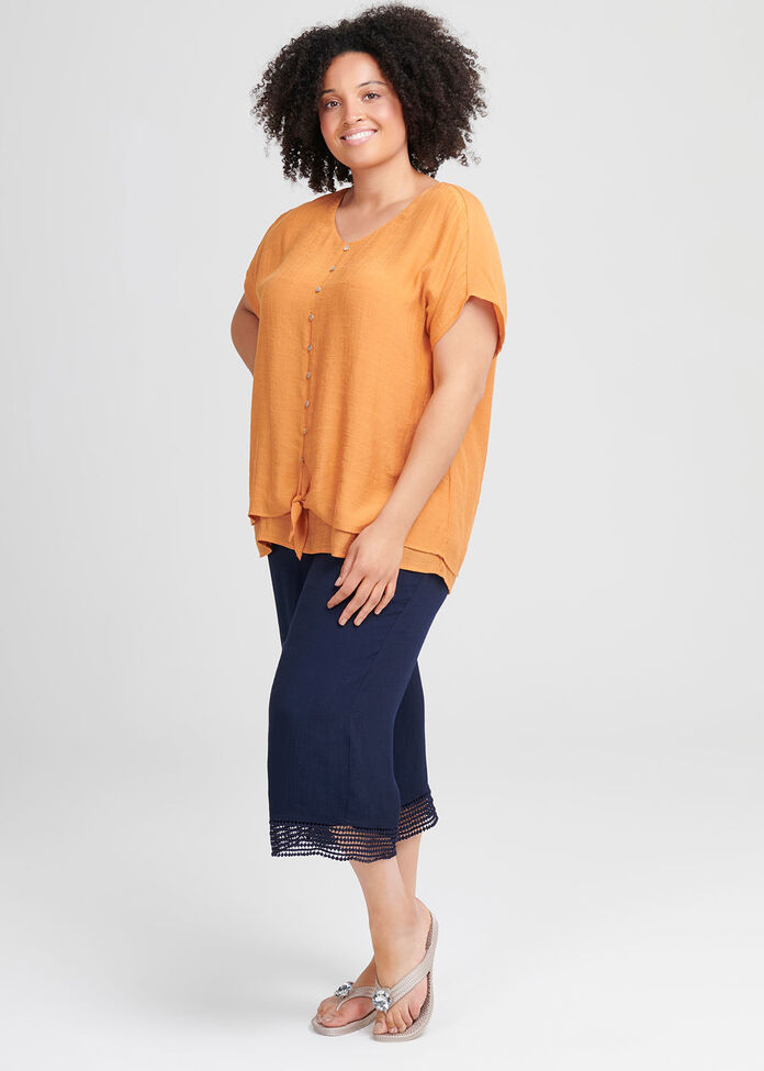 Nina Knot Top, , hi-res