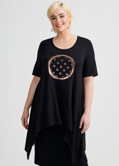 Reflections Short Sleeve Tunic