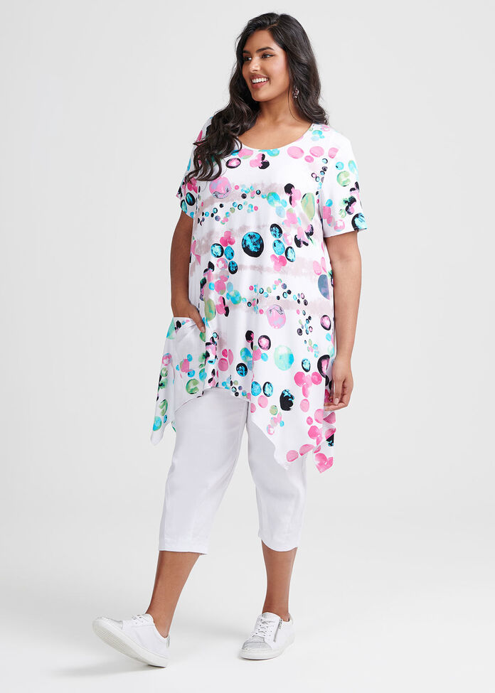 Crazy Cool Spot Tunic, , hi-res
