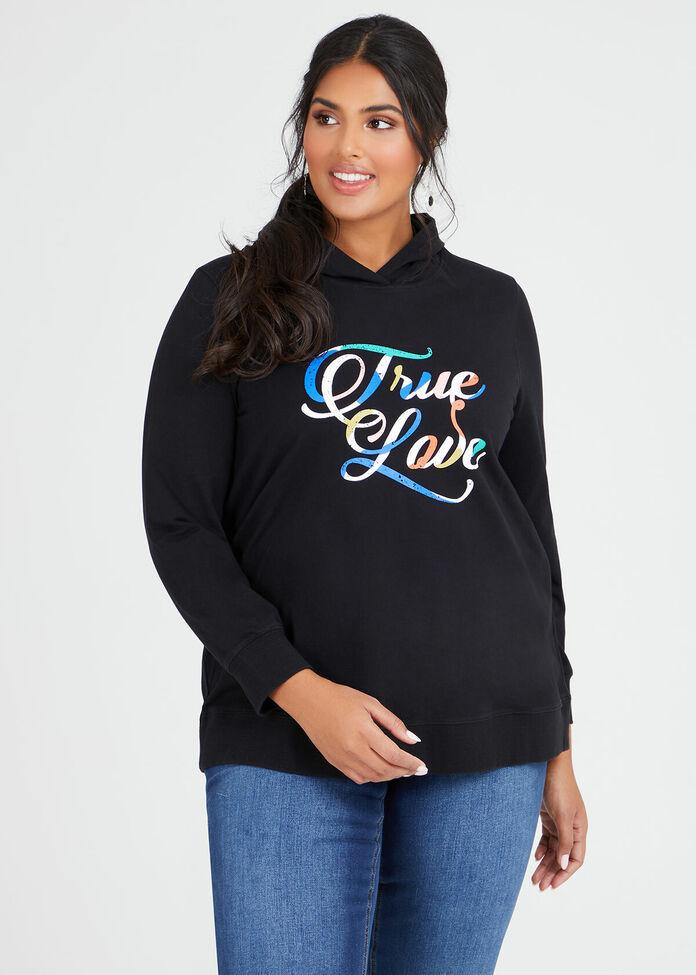 Organic True Love Hoodie, , hi-res