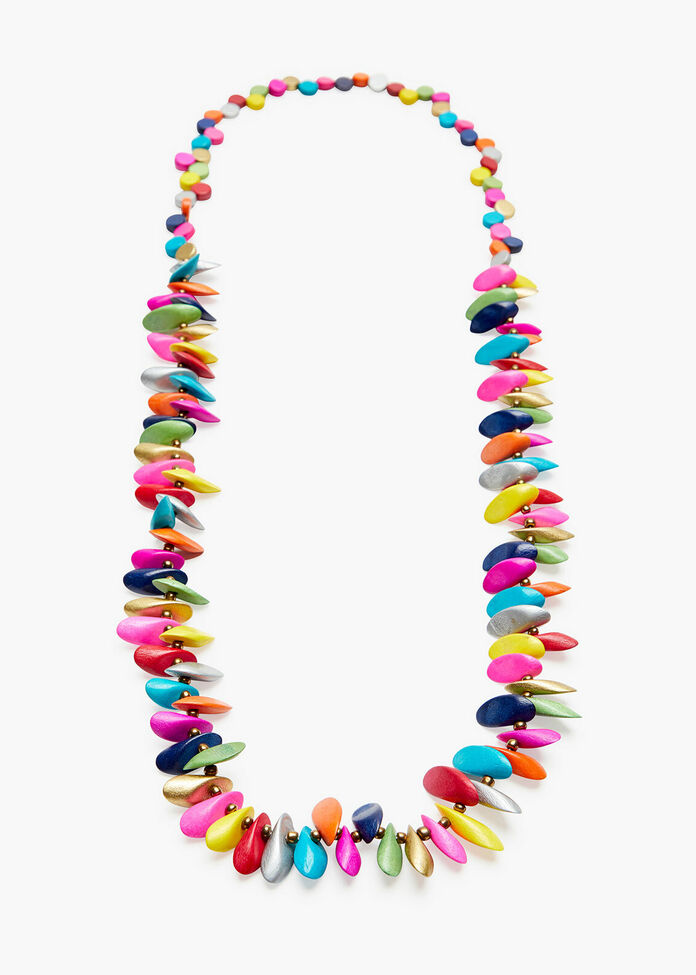 Bright Single Strand Necklace, , hi-res