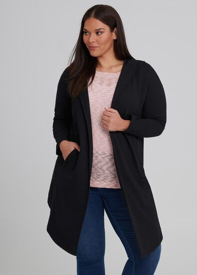 Chic Hooded Cardi