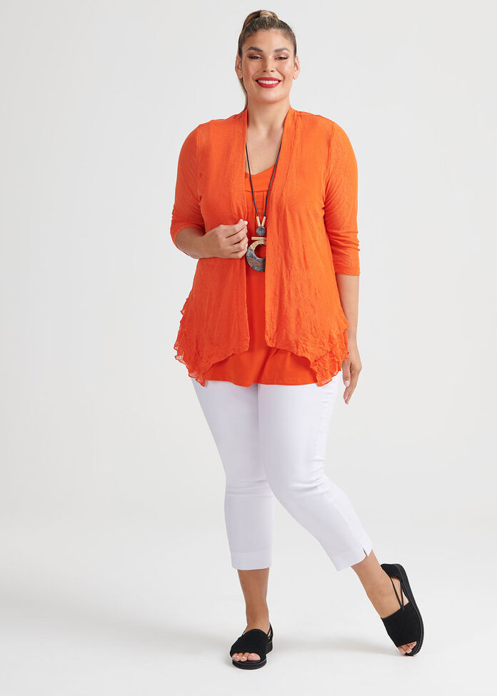 Take Cover Mesh Cardi, , hi-res