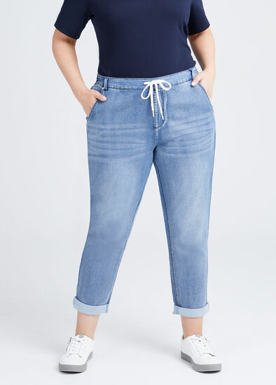 Iconic Flat Front Jogger