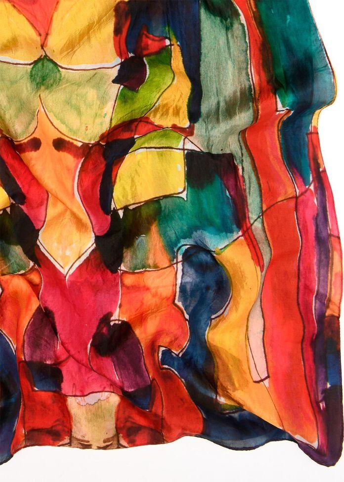 Primary Silk Scarf, , hi-res