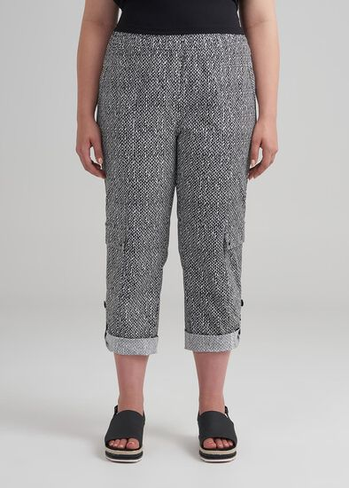 Geo Tribal Crop Pant