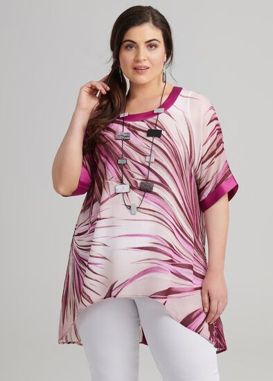 Palm Sunset Tunic