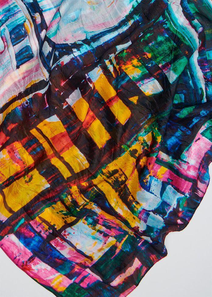 City Lights Silk Scarf, , hi-res