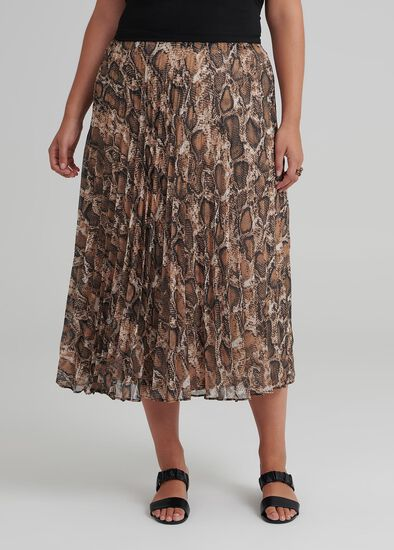 Society Pleat Skirt