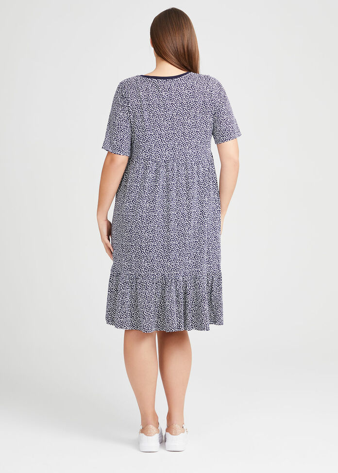 Organic Mini Heart Dress, , hi-res
