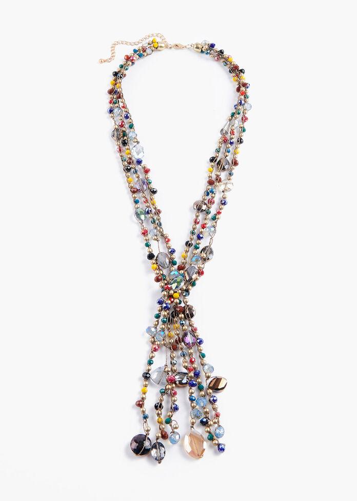 Rainbow Y Necklace, , hi-res