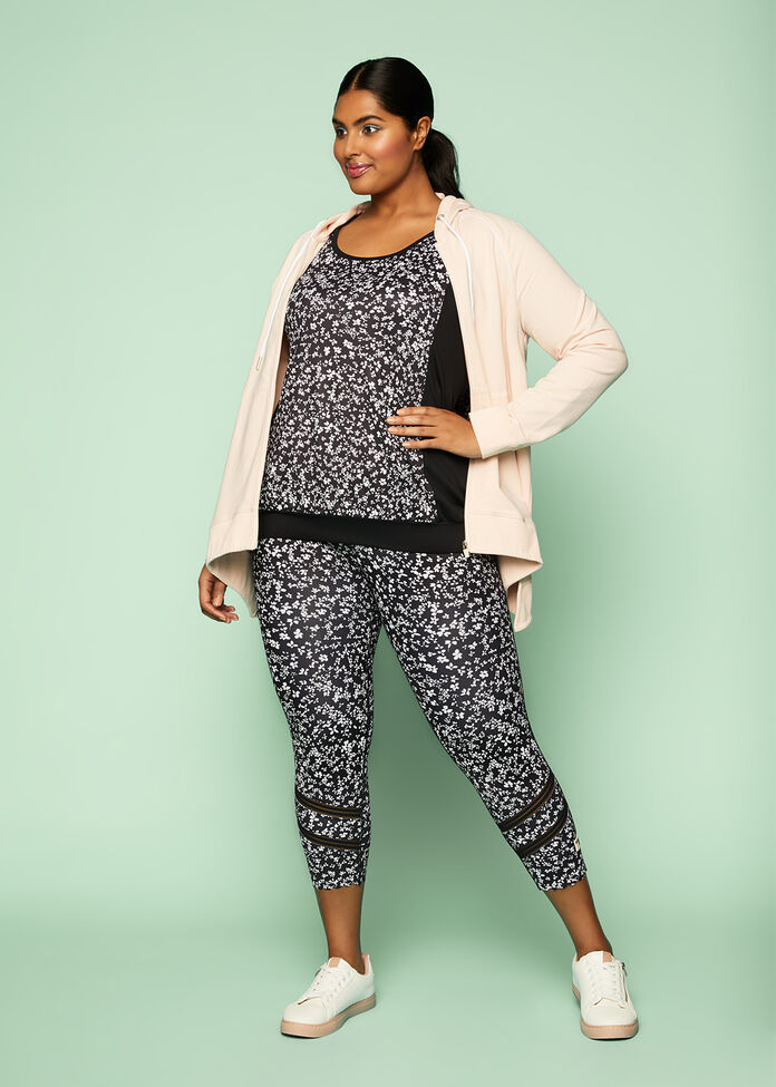 Ditsy Floral Active Outfit, , hi-res