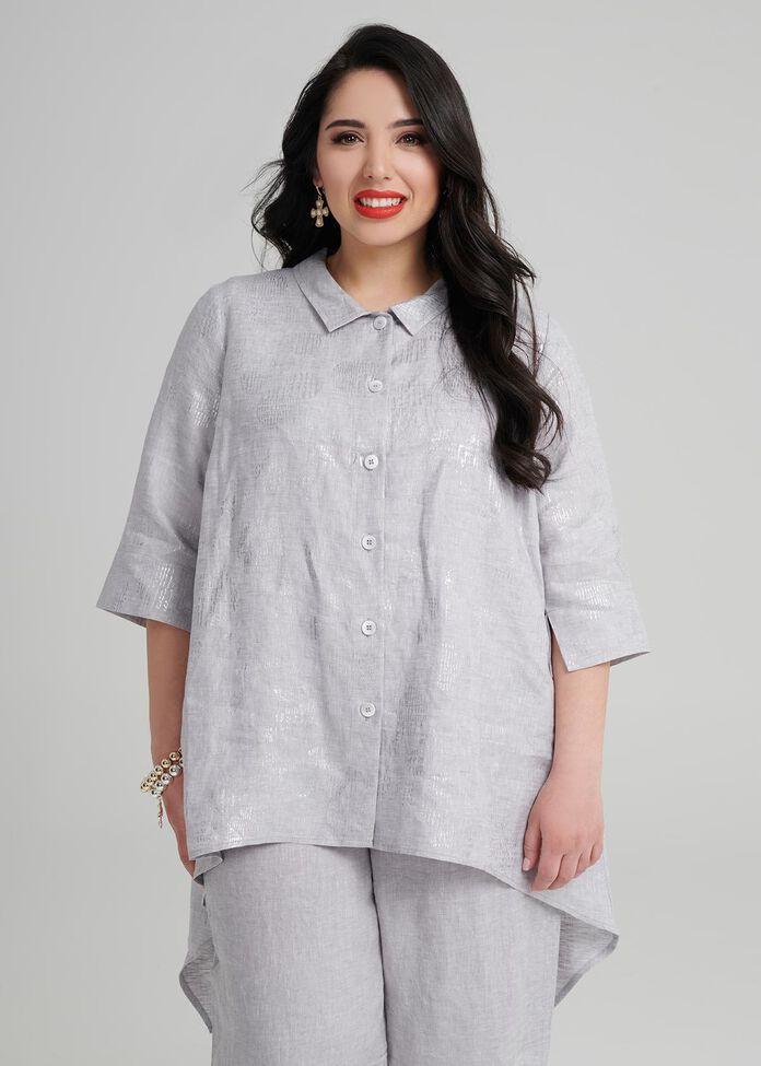 Petite Kasbah Linen Shirt, , hi-res